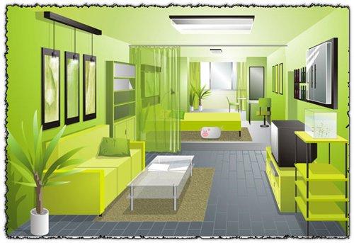 Arte cor dica 13 portal da cromoterapia for Combinaciones de color verde para interiores